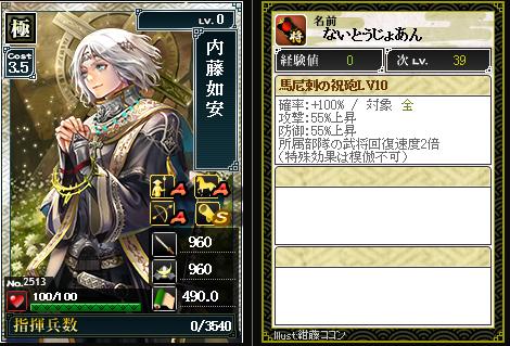 2513【極】内藤如安 馬尼剌の祝砲
