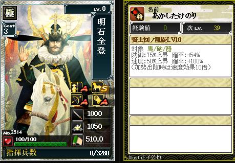 2514【極】明石全登 騎士団ノ凱旋 騎士団ノ帰還
