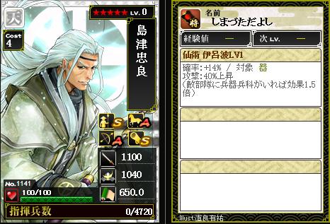 1141島津忠良 攻:仙術 伊呂波