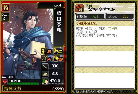 3401【特】成田泰親 小藩外交
