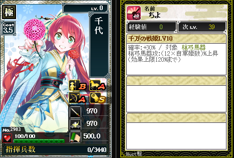 2983千代 攻:千万の戦姫
